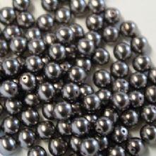 Preciosa Dark Grey Pearls
